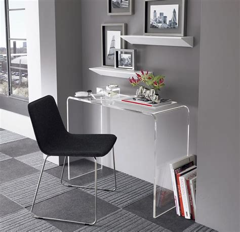Modern Desk For Small Space Small Console Home Office Desk
