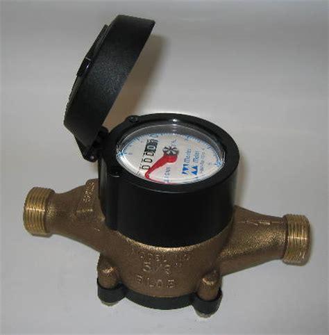 in a meter water metering