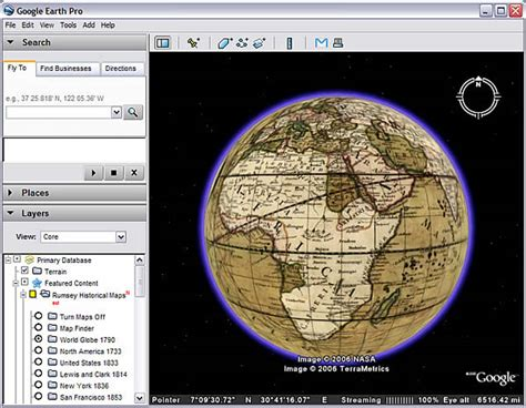 map overlays for earth using earth
