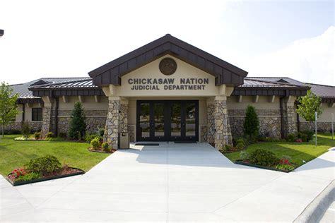 Calend Judicial Judicial Building Chickasaw Nation