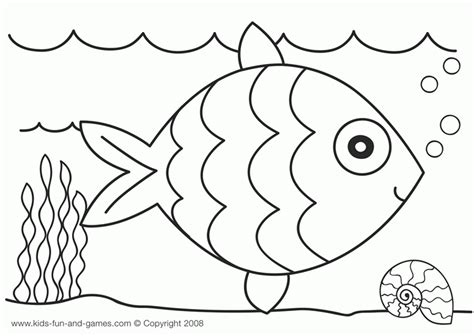 ocean animals coloring pages for preschool 549108