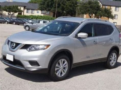 silver nissan rogue 2015 2015 nissan rogue silver lease busters wheels ca