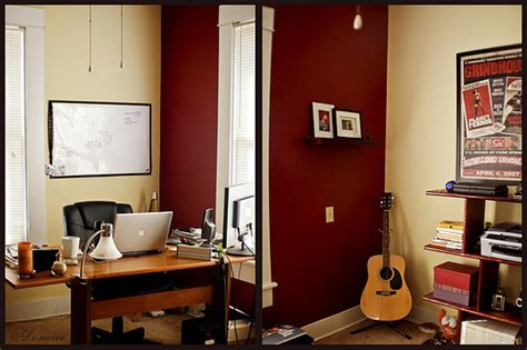 professional office color schemes earth tones and imacs a cozy home office featured