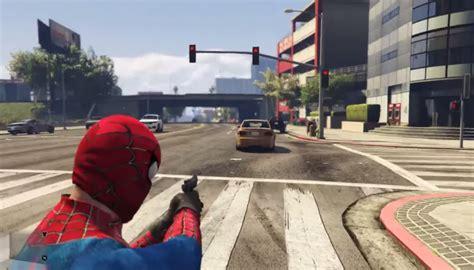 mod gta 5 spiderman gta v spiderman mod archives gaming central