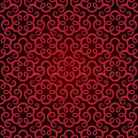 red pattern vector red seamless wallpaper pattern stock vector colourbox