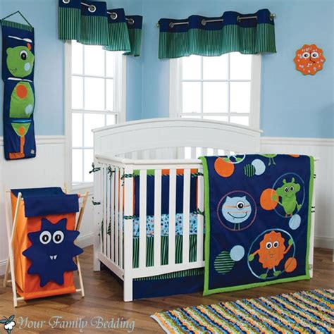 monster baby bedding 7 best images about baby bedding on pinterest chevron