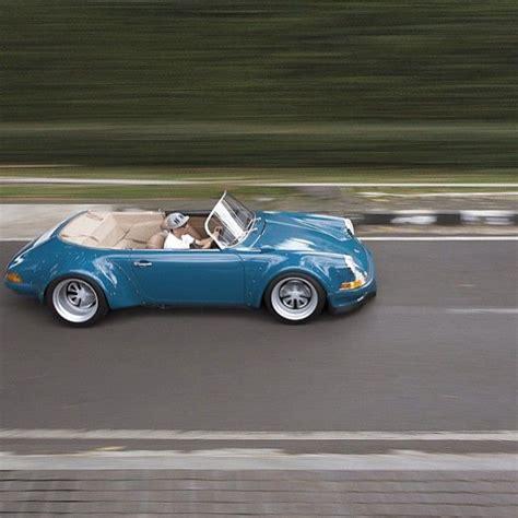 vintage porsche 911 convertible 25 best ideas about porsche 911 speedster on