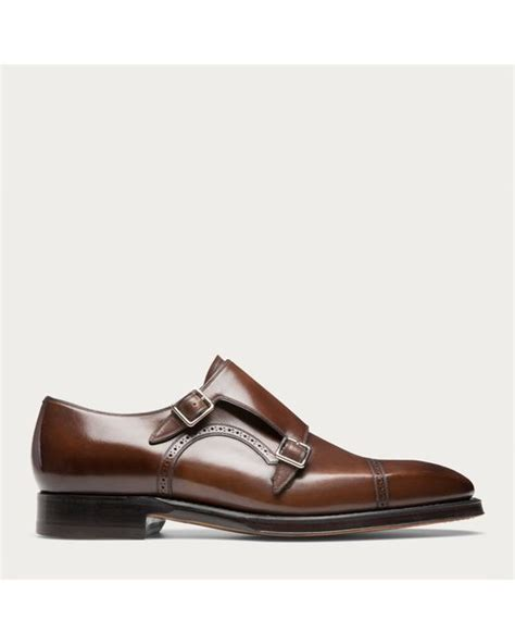 Wallet Bally Mocca Kode 08 bally scardino s leather monk shoe in mid brown in