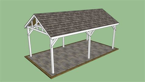 detached carport plans carport plans free