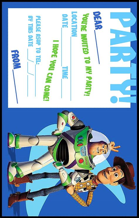 woody and buzz lightyear free printable toy story party