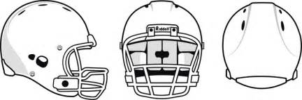 football helmet template football helmet template cliparts co