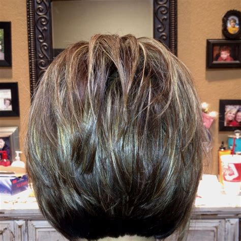 hairstyles blunt stacked the back of a stacked layered bob not sure about you but