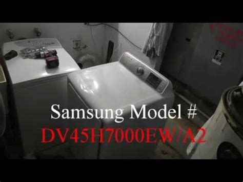 samsung dryer repair m dv45h7000ew a2