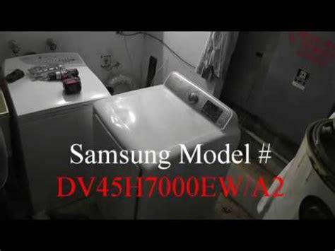 samsung dryer repair m dv45h7000ew a2