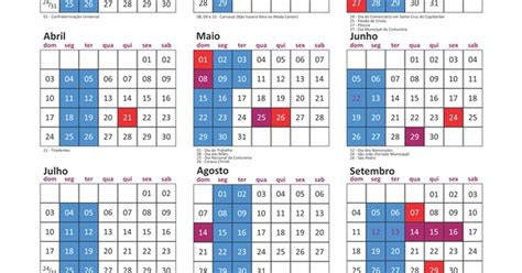 Calendario G F 2016 G1 Calend 225 2016 Das Feiras De Santa Do