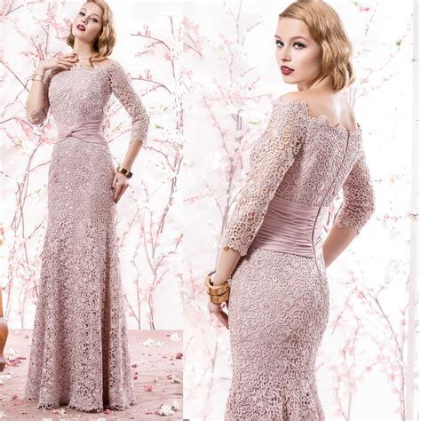 light pink mother of the bride dresses newest light pink long lace off the shoulder mother of the