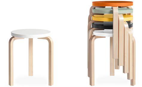 Ikea Chairs Alvar Aalto Stool 60 Hivemodern Com