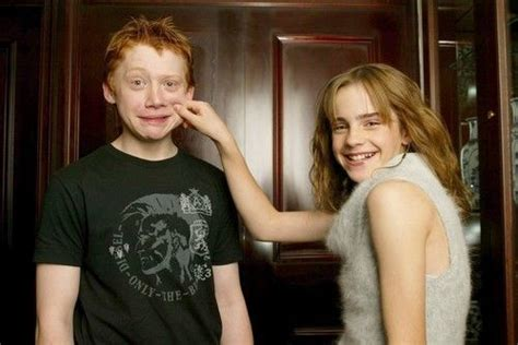 emma watson rupert grint quotables emma watson and rupert grint are very