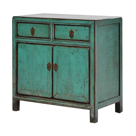 style guide asian furniture gallery distressed cupboard in turquoise by out there interiors