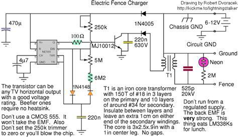 electric fencing circuit diagram electric fence circuit diagram wiring diagram and schematics
