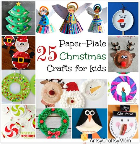 easy paper plate christmas crafts 25 easy paper plate crafts for artsy craftsy