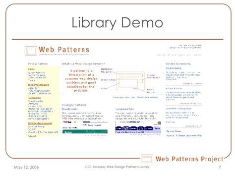 web presentation pattern webpattern final presentation2 1