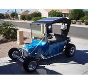 Fiberglass Golf Cart Bodies This T Bucket Electric Is The