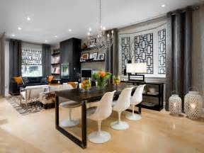 Hgtv Dining Room Ideas Living Room Dining Room Makeover From Gutted To Gorgeous