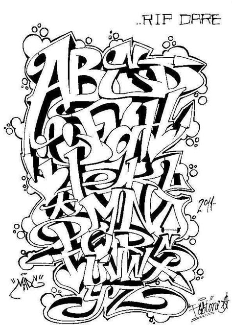 street alphabet competition design  don   panic
