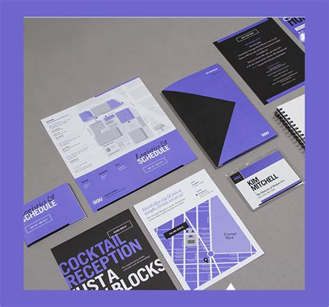 sle elegant conference brochure templates 13