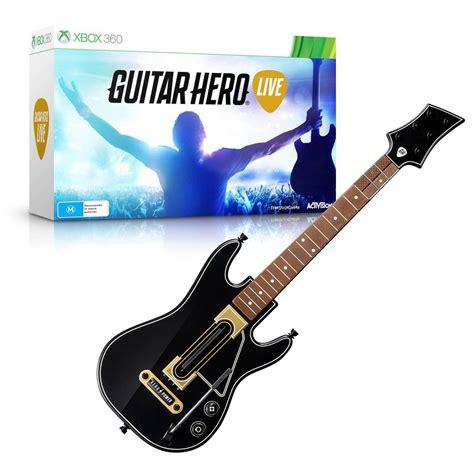 tutorial guitar hero 3 xbox 360 guitar hero live xbox 360 the gamesmen