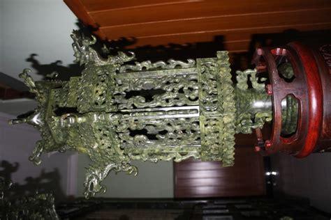 Ranjang Giok ranjang antik cina dari batu giok serpentinit barang