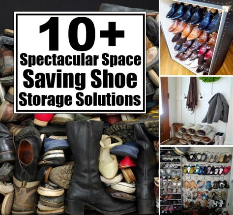 space saving shoe storage ideas 10 spectacular space saving shoe storage solutions diy