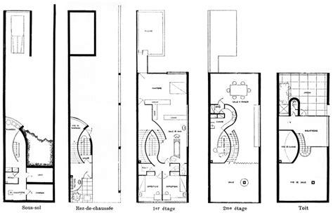irene ngoc ta villa savoye le corbusier plans le corbusier floor plans house plans home designs