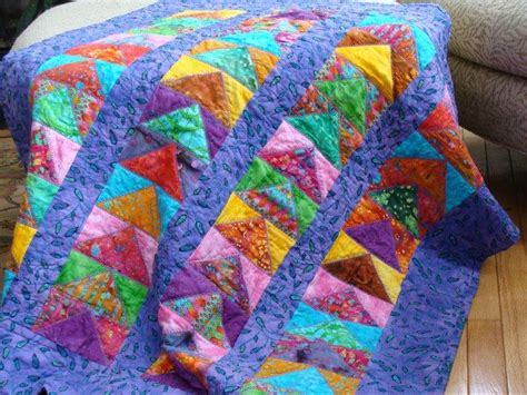 Quilt Tips by You To See Crayon Tips Crib Quilt On Craftsy