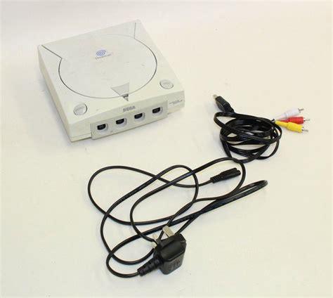 buy sega dreamcast console sega dreamcast grey console ebay