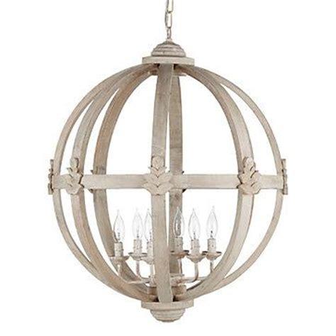 White Orb Light Fixture Meridian Chandelier I Z Gallerie