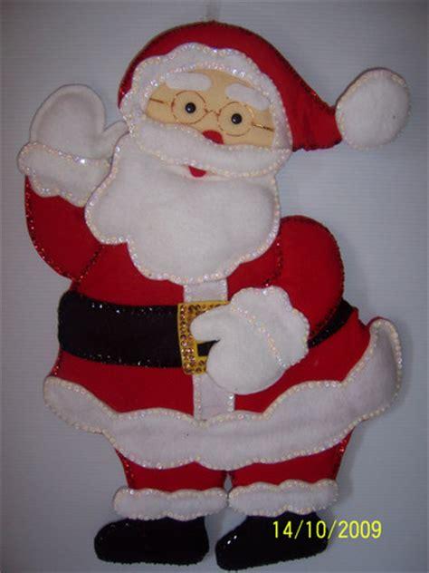 imagenes de un santa claus de fieltro empieza la navidad veral to fotolog