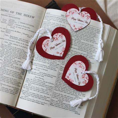 DIY Heart Bookmarks   Party Inspiration