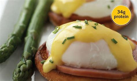 2 eggs carbohydrates eggs benedict egg