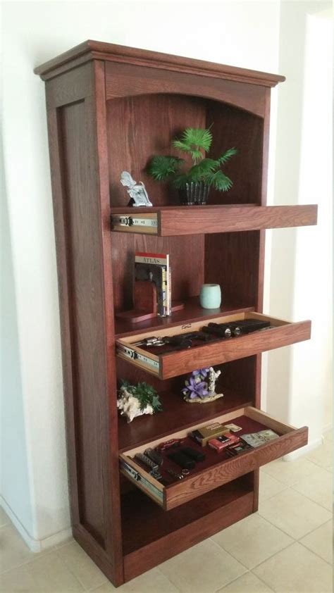 bookshelf  secret compartments  topsecretfurniture