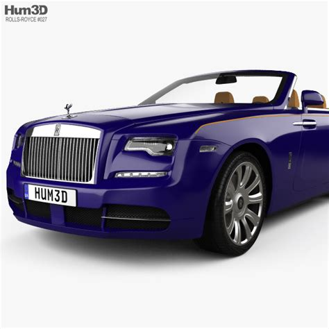 rolls royce interior 2017 rolls royce with hq interior 2017 3d model hum3d