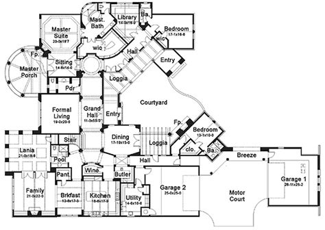6 bedroom luxury house plans luxury master bathrooms 6 bedroom luxury floor plans for houses single story house