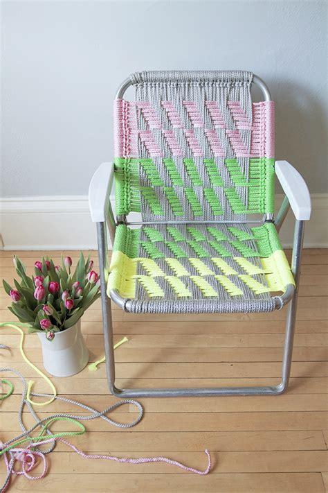 Macrame Chairs by Woven Macram 233 Chair Tutorial