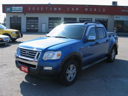 2010 ford explorer sport trac whitby ontario used car for sale 2303974 2010 ford explorer sport trac xlt 4x4 at edgetown motors in smith s falls ontario autowizard ca