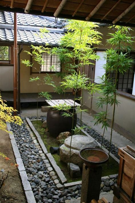 courtyard ideas 27 calm japanese inspired courtyard ideas digsdigs