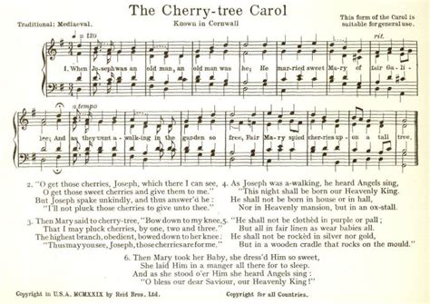 the cherry tree carol dunstan