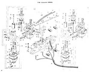 honda 750 carb diagram cb750 carb rebuild service wiring