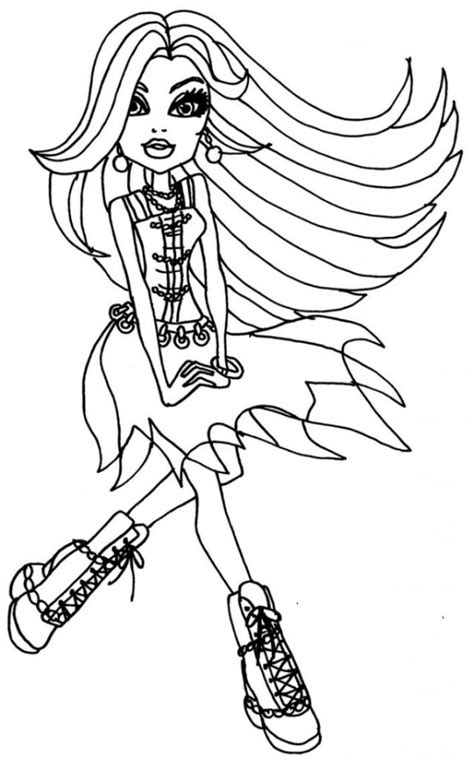 coloring pages monster high online get this online monster high coloring pages 357862