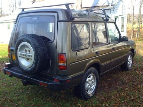 how make cars 1996 land rover discovery transmission control sell used 1996 land rover discovery manual transmission sd sport utility 4 door 4 0l awd in